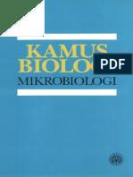 Kamus Mikrobiologi