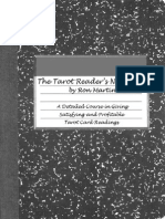 Tarot readers notes
