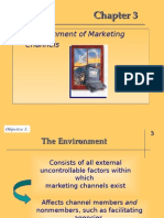 Ch03- The Environments of Marketing Channels