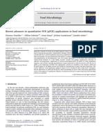 Avances recientes  de las aplicaciones de qPCR en Microbiología de Alimentos