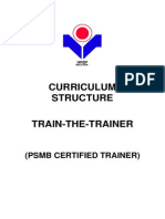 Psmb Certified Trainer Curriculum Structure(1)