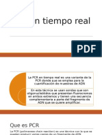PCR(reacción en cadena de la Polimerasa)