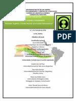 PRIMERA CIRCULAR 2015-2016