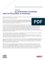 Periodonotology Awareness Campaign_PRESSRELEASECAMPAIGN