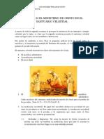 Capitulo 24 El Ministerio de Cristo en El Santuario Celestial
