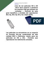 Catalogo Peliculas en Hd y 3d 2013