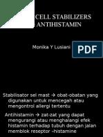 Mast Cell Stabilizer Dan Antihistamin