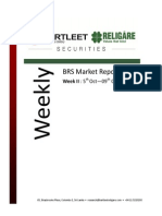 BRS Weekly Market Report - 09.10.2015