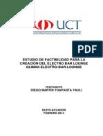 Estudio de Factibilidad Para La Creacion Del Electro Bar Lounge Qlimax