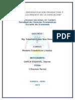 II Examen Parcial- Solucion - Deyner Garcia Esquivel
