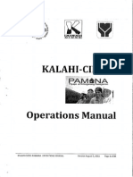 KALAHI-CIDSS PAMANA Operations Manual