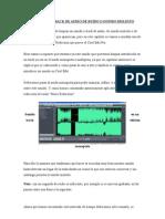 Limpiar Un Track de Audio de Ruido o Sonido Molesto