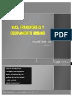 Analisis de Vias, Transporte y Equipamiento Urbano- Tucume