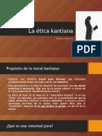 La Ética Kantiana