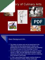 Η ιστορία της μαγειρικής τέχνης - The History of Culinary Arts