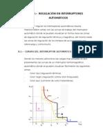 Regulación de Los Interruptores Automáticos