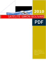 informe final  satélite simón bolívar