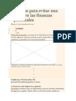 Siete Tips Para Evitar Una Crisis en Las Finanzas Personales_439