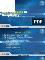 CRS Systems in Hospitality