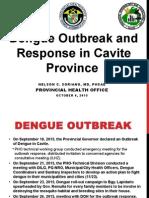 Dengue Fever Outbreak MW38, 2015 (1)