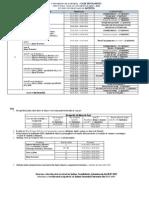 Structura Anului Universitar 2015-2016 - LICENTA CA