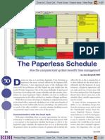 b.15 Paperless Schedule