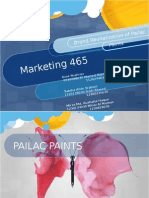 Re-branding of Pailac Paints
