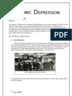 Research on Economic Depression
