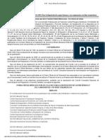 NORMA Oficial Mexicana NOM-253-SSA1-2012, Para la disposición de sangre humana y sus componentes con fines terapéuticos.