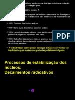 Núcleos atómicos e radioatividade 12º