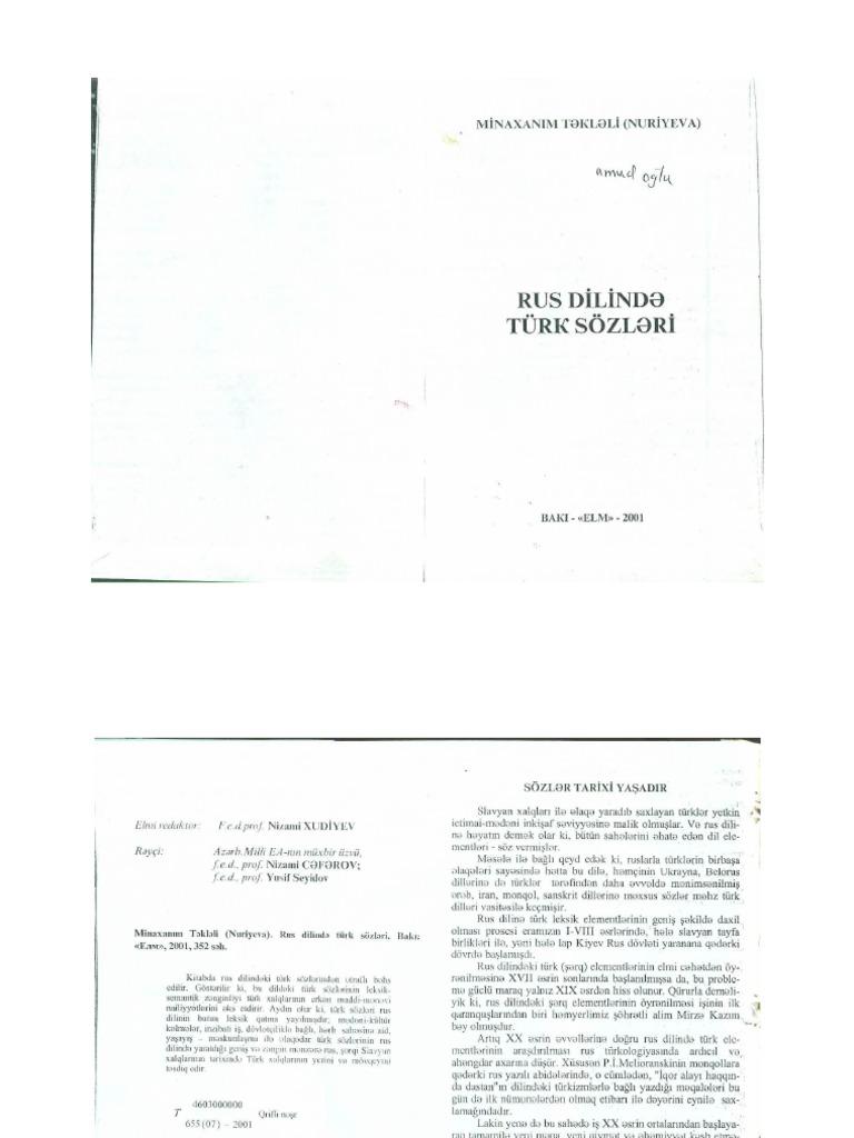 0039 Rus Dilinde Turk Sozleri82655kbpdf