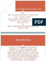 Weight Loss Surgery in Delhi