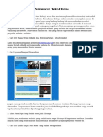 Tips Memilih Jasa Pembuatan Toko Online