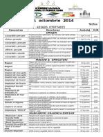 Price List 2014 CB