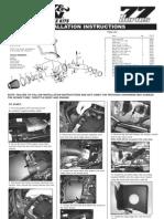 K&N Series 77 Air Intake Toyota Tundra Installation Instructions