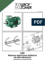 Motores asíncronos trifásicos de alta eficiencia