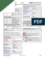 Toyota Tundra TRD Brake Kit Installation Instructions