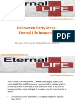 Halloween Party Ideas - Eternal Life Insurance