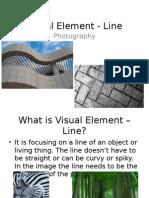 visual element - line
