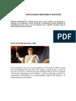 Lecturas y Esquemas Constitucionalismo Histórico