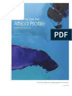 Africa Profile Disputes Focus