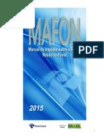 Manual IRPF Na Fonte - 2015