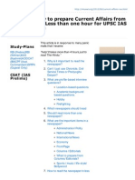 Mrunal.org-Strategy How to Prepare Current Affairs From Newspapers in Less Than One Hour for UPSC IAS IPS CSAT E