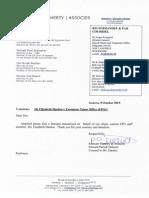 15-10-08 Letter Re. EPO Elizabeth Hardon