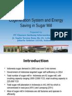Sistem Kogenerasi Dan Efisiensi Energi Di Pabrik Gula-le Meridien-hyt