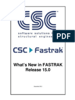 Fastrak 15 Whats New