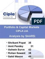 Portfolio & Capital Markets