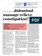 290311Does Abdominal Massage Relieve Constipation Fix