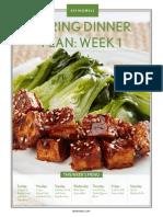 Spring Dinner Plan Web Premium