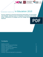 The State of Sustainabililty in Tertiary Education Report 2015 (2)
